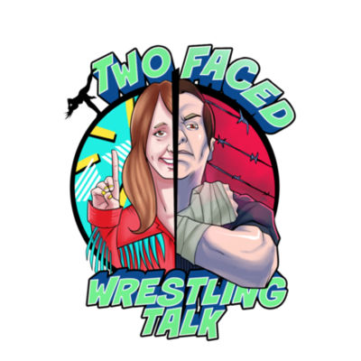 Two Faced Wrestling Talk Shirt Design