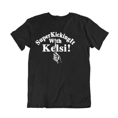 Are You Afraid of SuperKicking It T-Shirt Thumbnail